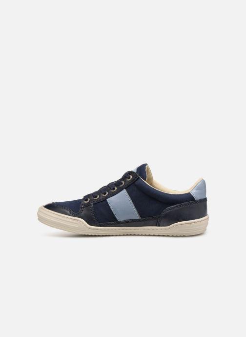 Sneakers Kickers JIMMY Azzurro immagine frontale