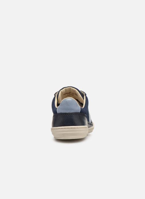 Sneakers Kickers JIMMY Azzurro immagine destra