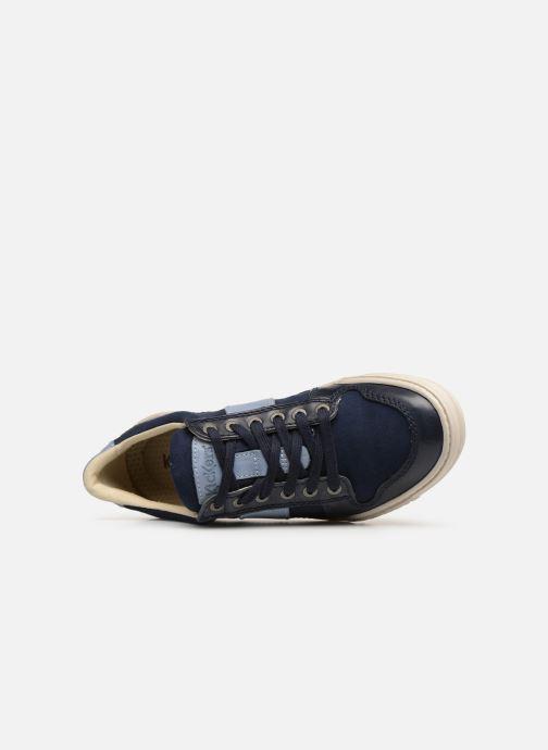 Sneakers Kickers JIMMY Azzurro immagine sinistra