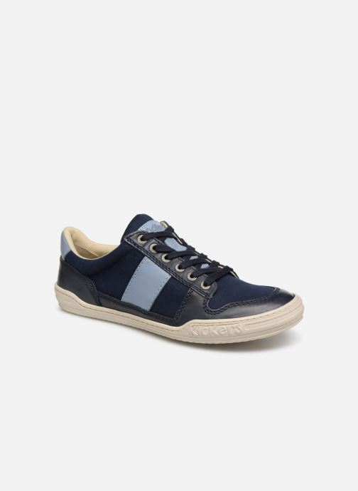 Sneakers Kickers JIMMY Blauw detail