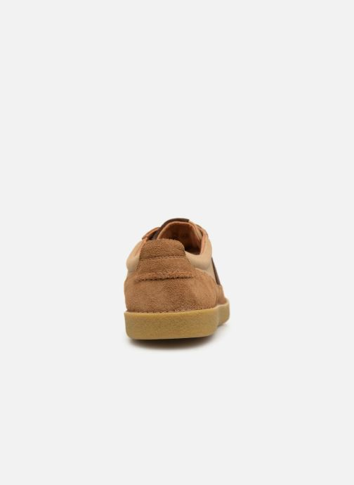 Baskets Kickers THEORY Marron vue droite