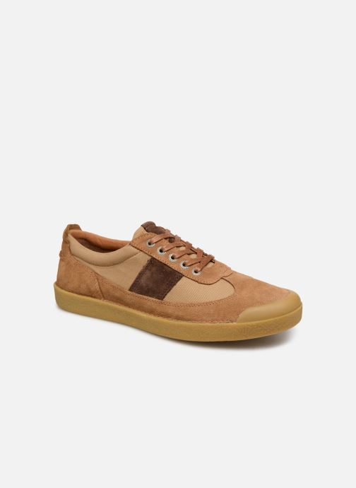 Baskets Kickers THEORY Marron vue détail/paire
