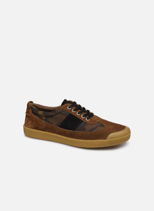 Sneakers Kickers THEORY Brun detaljeret billede af skoene