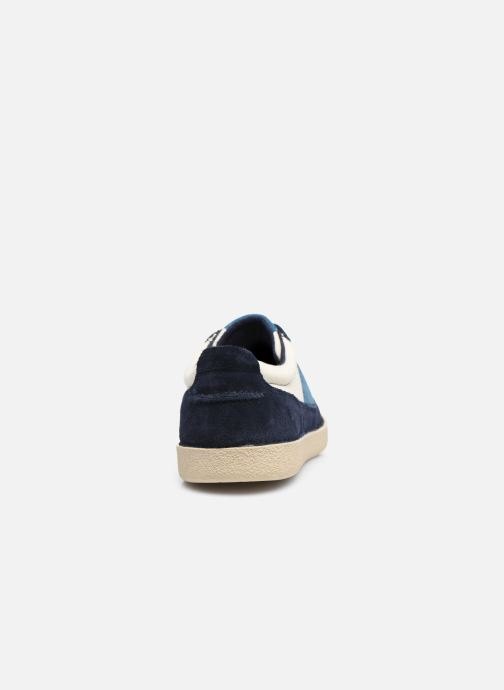 Sneakers Kickers THEORY Blauw rechts