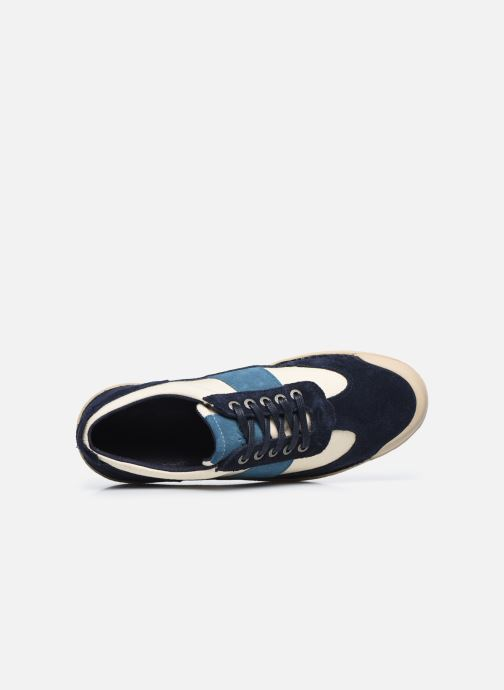 Sneakers Kickers THEORY Blauw links