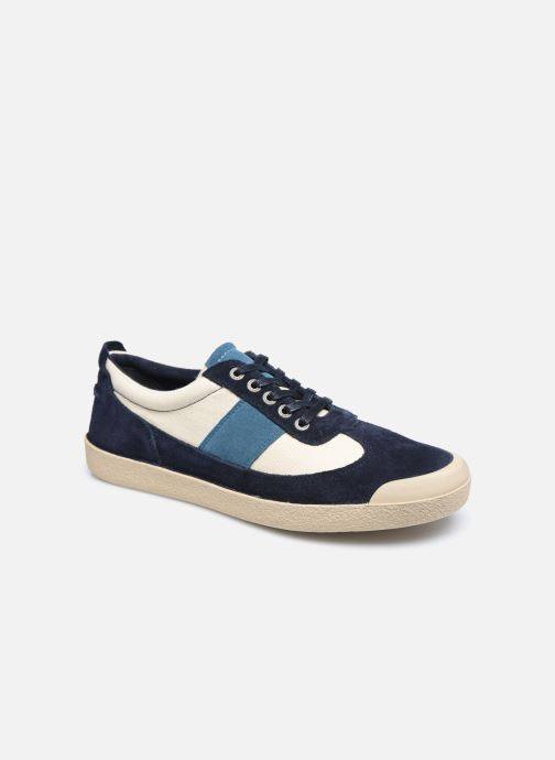 Sneakers Kickers THEORY Blauw detail
