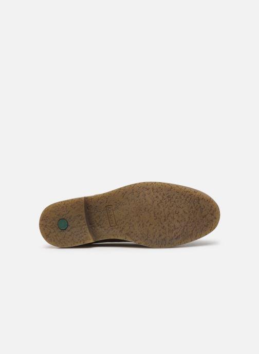 Chaussures à lacets Kickers OXANY Beige vue haut