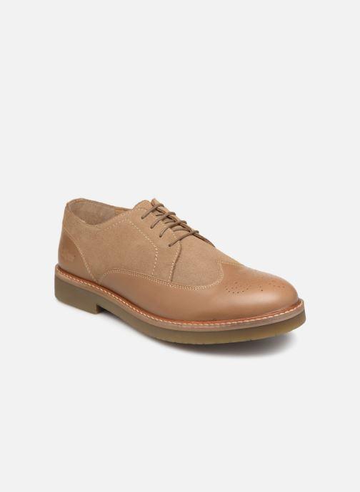 Chaussures à lacets Kickers OXANY Beige vue détail/paire