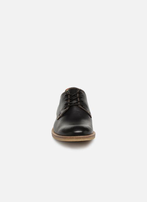 Kickers 357377 Bacar Chez À Lacets Chaussures noir ZTZqrwOS