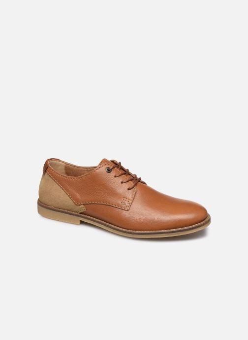 Chaussures à lacets Kickers BACAR Marron vue détail/paire
