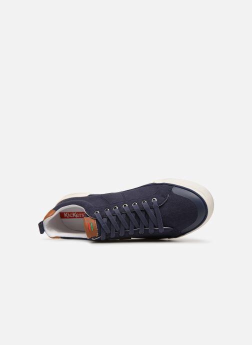 Sneakers Kickers ARTY Blå bild från vänster sidan