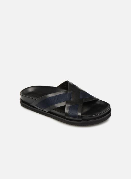 Sandales et nu-pieds Kickers SYLSON Noir vue détail/paire