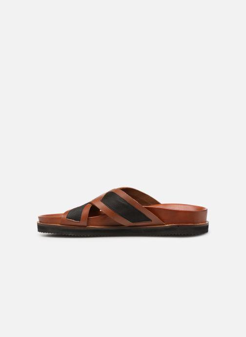 Sandalen Kickers SYLSON braun ansicht von vorne