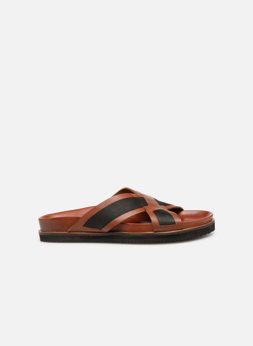 Sandales et nu-pieds Kickers SYLSON Marron vue derrière