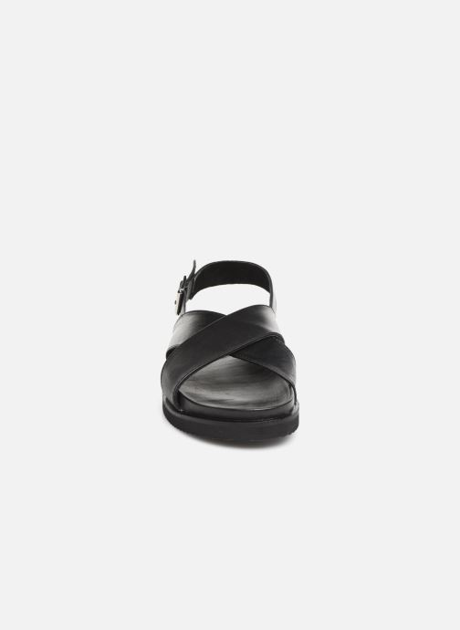 Sandross Nu Kickers Noir Et Sandales pieds 8wOkPXn0