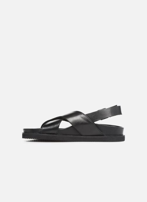 Sandalen Kickers SANDROSS schwarz ansicht von vorne