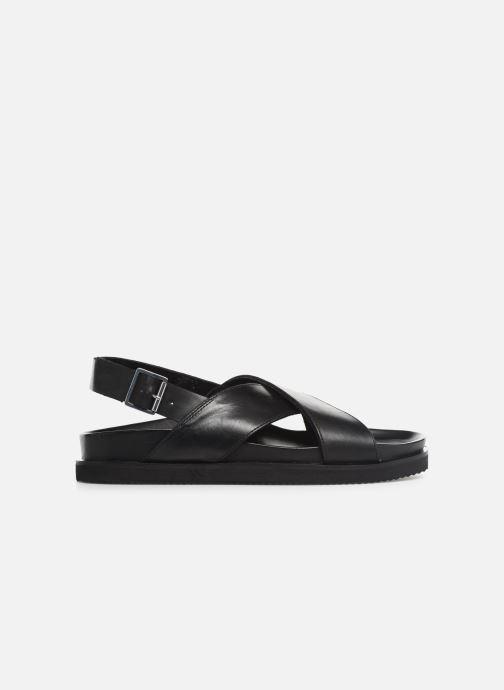 Sandalen Kickers SANDROSS schwarz ansicht von hinten