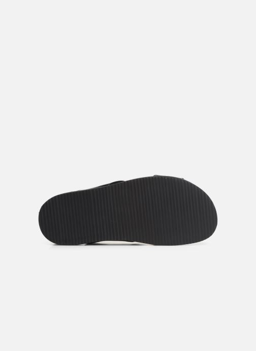 Sandalen Kickers SANDROSS schwarz ansicht von oben