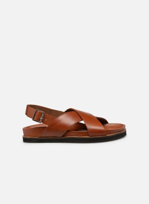 Sandales et nu-pieds Kickers SANDROSS Marron vue derrière