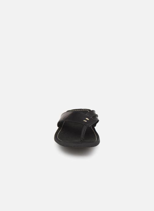 Sandales et nu-pieds Kickers SPACIES Noir vue portées chaussures