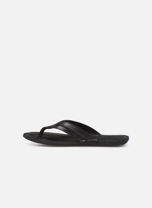Sandales et nu-pieds Kickers SPACIES Noir vue face