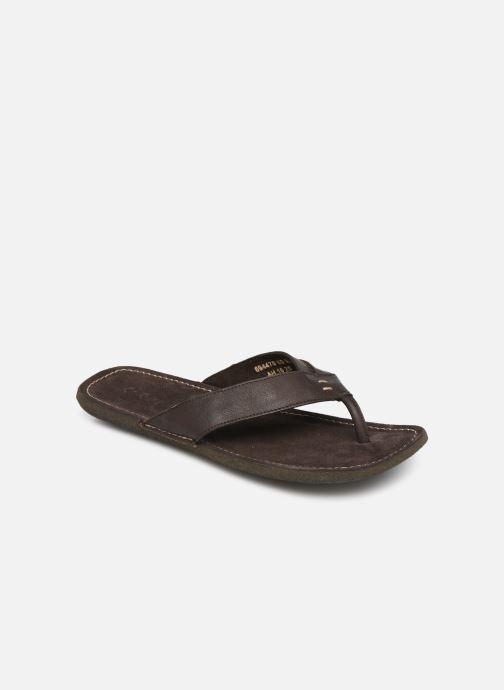 Sandales et nu-pieds Kickers SPACIES Marron vue détail/paire