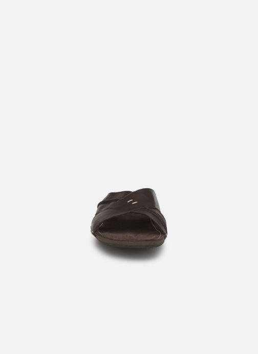 Sandales et nu-pieds Kickers SPOCK Marron vue portées chaussures