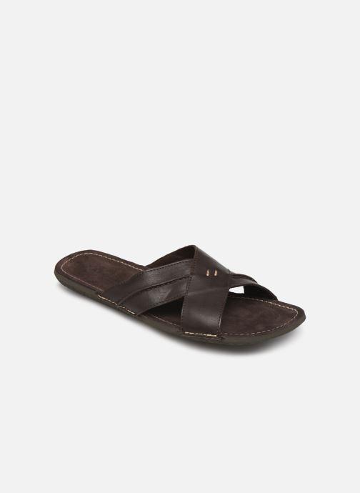 Sandales et nu-pieds Kickers SPOCK Marron vue détail/paire