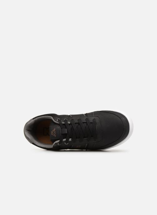 Sneaker Kappa Sonato schwarz ansicht von links