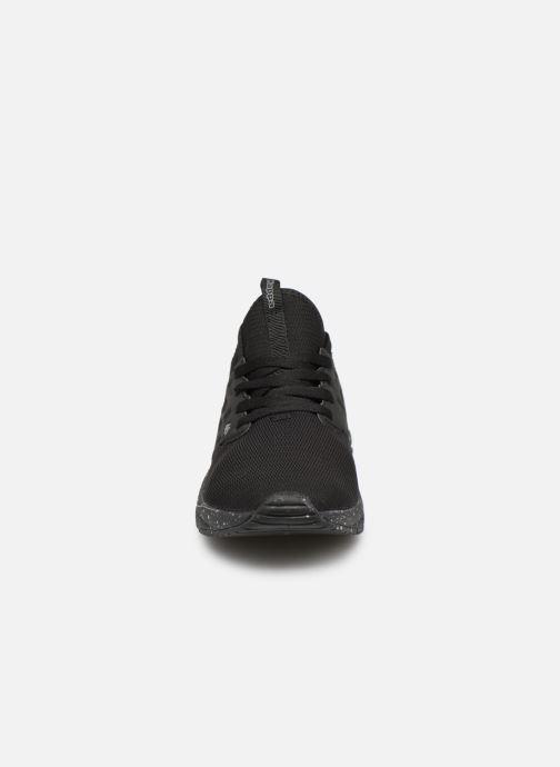 Baskets Kappa San Antonio M Noir vue portées chaussures