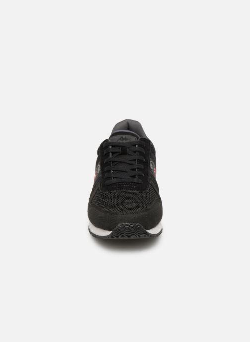 Baskets Kappa Mohan Noir vue portées chaussures