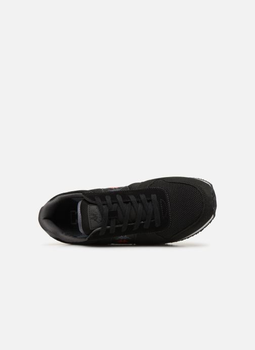 Trainers Kappa Mohan Black view from the left