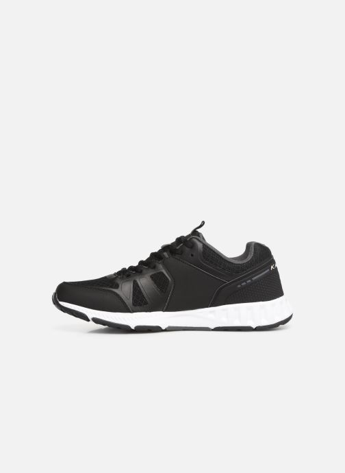 Trainers Kappa Birdy Black front view