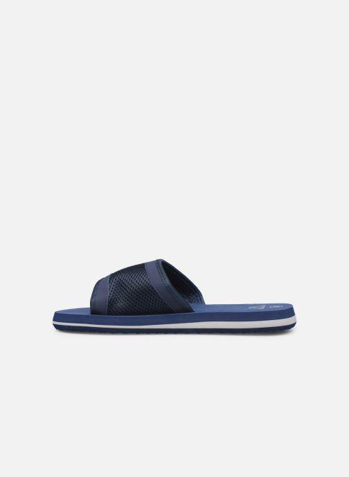 Sandales et nu-pieds Kappa Boxit Bleu vue face