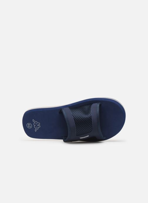 Sandalen Kappa Boxit blau ansicht von links