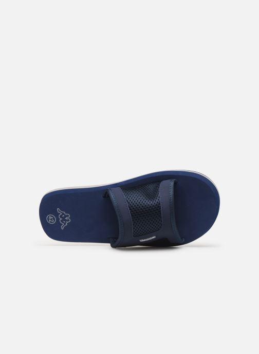 Sandales et nu-pieds Kappa Boxit Bleu vue gauche