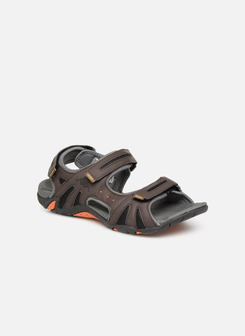 Sandaler Kappa Tiamat Brun detaljeret billede af skoene