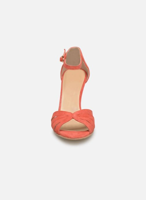 Sandales et nu-pieds Jonak DONIT Orange vue portées chaussures