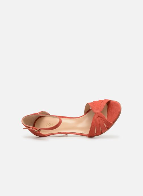 Sandals Jonak DONIT Orange view from the left