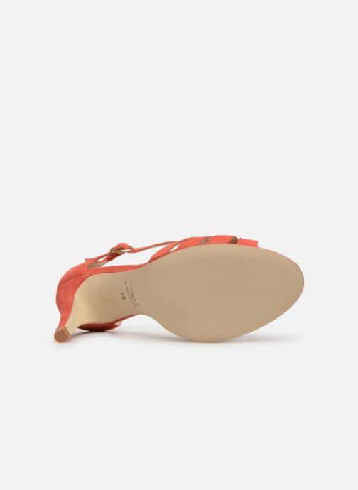 Sandales et nu-pieds Jonak DONIT Orange vue haut