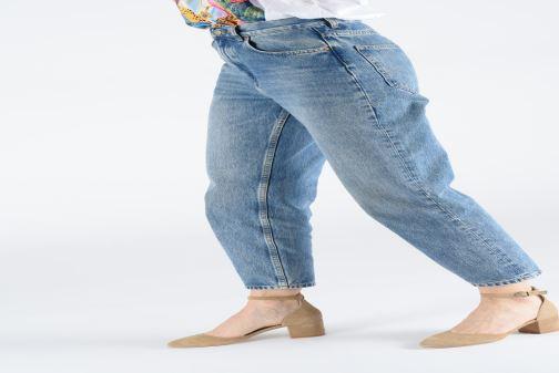 Sandales et nu-pieds Jonak VIRGILIE Beige vue bas / vue portée sac