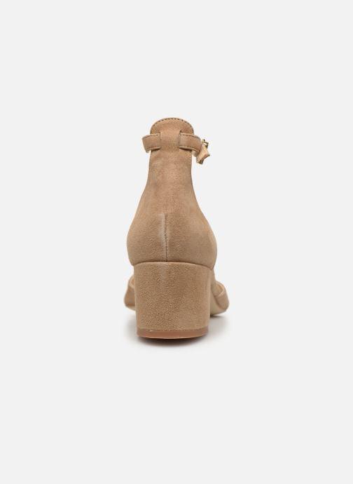 Sandales et nu-pieds Jonak VIRGILIE Beige vue droite