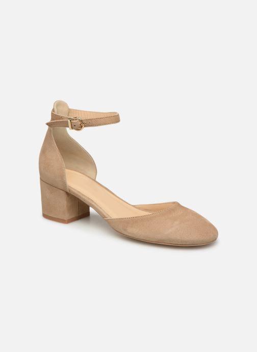 Sandales et nu-pieds Jonak VIRGILIE Beige vue détail/paire
