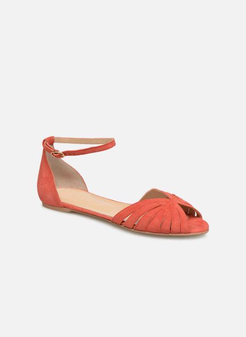 Sandales et nu-pieds Jonak DUTRA Orange vue détail/paire