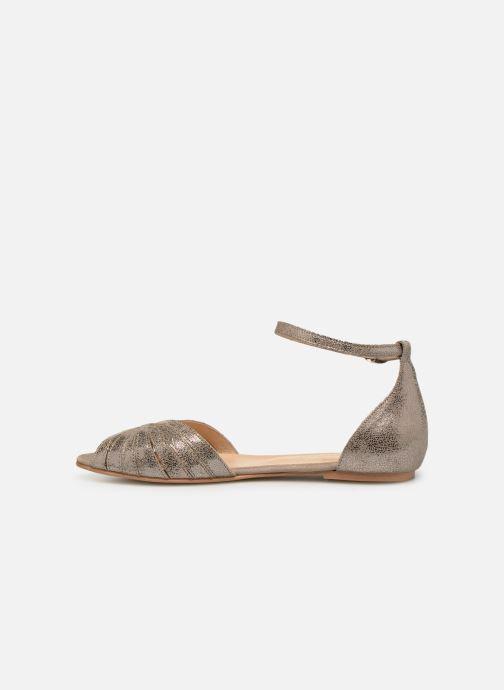 Sandales et nu-pieds Jonak DUTRA Or et bronze vue face
