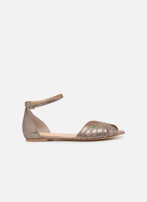 Sandales et nu-pieds Jonak DUTRA Or et bronze vue derrière