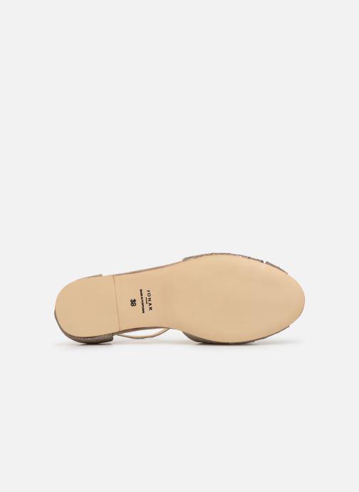 Sandales et nu-pieds Jonak DUTRA Or et bronze vue haut