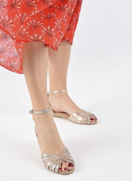 Sandali e scarpe aperte Jonak DUTRA Oro e bronzo immagine dal basso