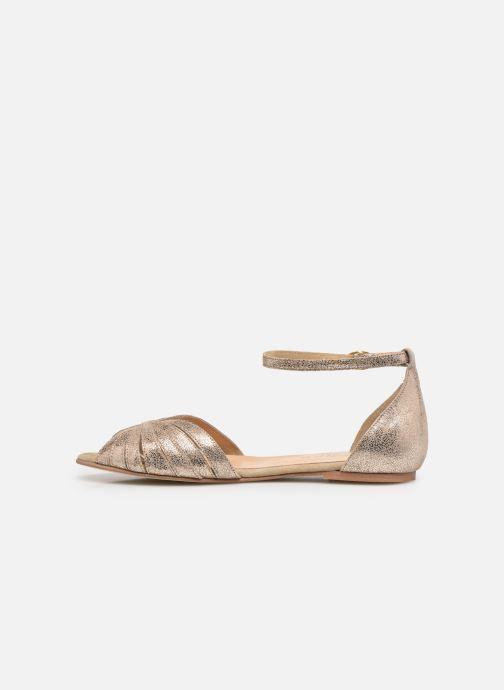 Sandali e scarpe aperte Jonak DUTRA Oro e bronzo immagine frontale