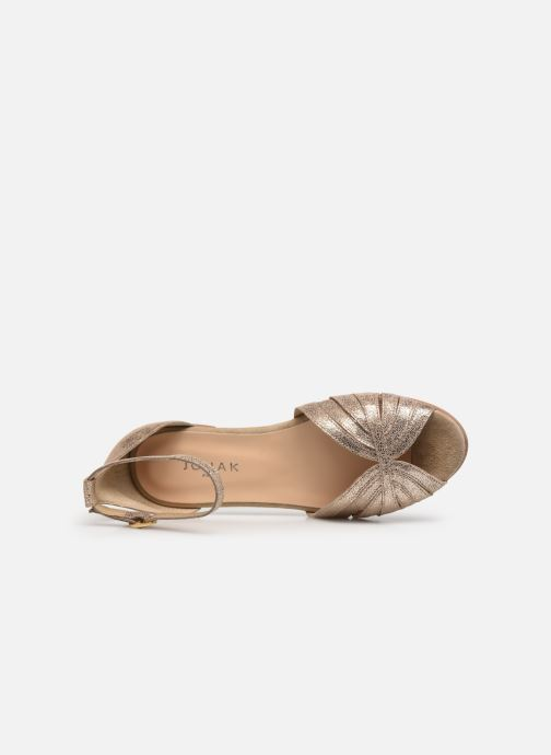 Sandali e scarpe aperte Jonak DUTRA Oro e bronzo immagine sinistra